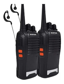 Kit 2 Radio Comunicador 777s Profissional Ht Uhf 16 Canais