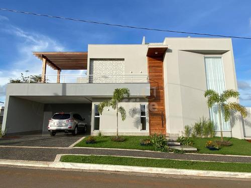 Casa À Venda, 394 M² Por R$ 2.200.000,00 - Condomínio Residencial Grand Trianon - Anápolis/go - Ca0658