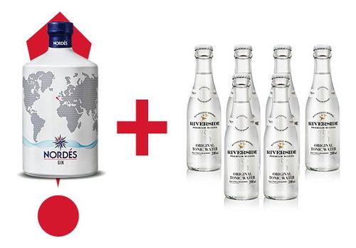 Kit Gin Nordes + 6 Tônicas Riverside