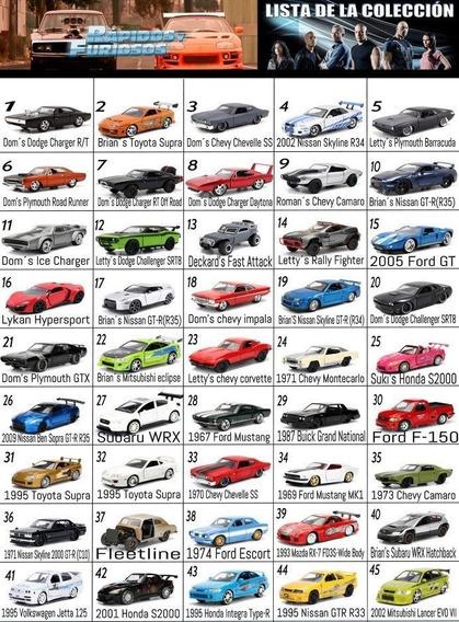 Coleccion Rapido Y Furioso Fast And Furious 1/32 Jada Nacion