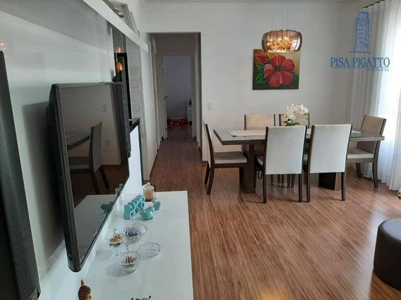 Apartamento Com 3 Dormitórios À Venda, 90 M² Por R$ 700.000,00 - Jardim America - Paulínia/sp - Ap1047