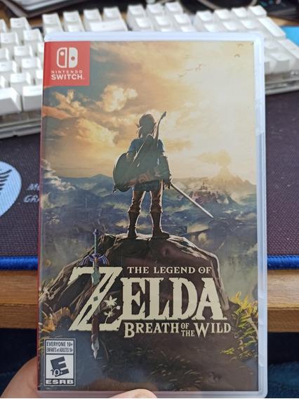 Zelda Breath Of The Wild Mídia Física