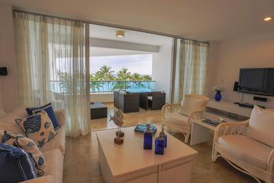Juan Dolio. Apt De Playa Amueblado.torre Marbella. Inversión