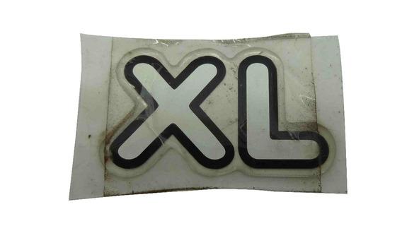 Adesivo Emblema Resinado Xl Ford Courier