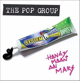 The Pop Group Honeymoon On Mars (stickers, Digipack Packagin