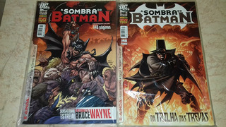 Gibi Hq A Sombra Do Batman Nº11, 12, 13, 14, 15, 16, 17, 18