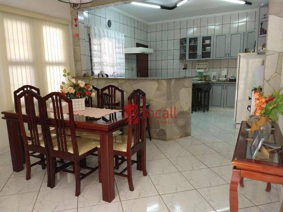 Casa Com 2 Dormitórios À Venda, 256 M² Por R$ 350.000 - Eldorado - São José Do Rio Preto/sp - Ca1762