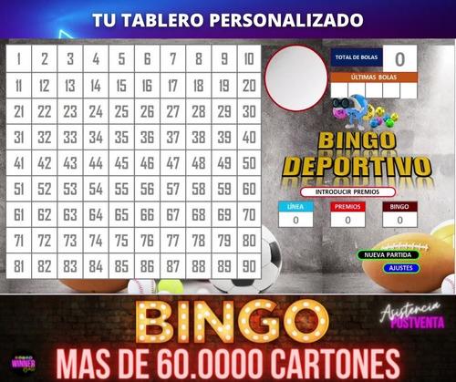 Bingo Programa Generador De Cartones Y Bolillero Automatico Mercado Libre