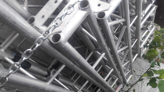 Treliça Estrutura De Aluminiun Q-25