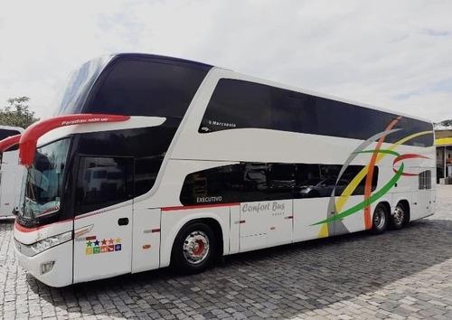 Ônibus Marcopolo Paradiso Dd Executivo Turismo E Scania K380