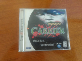 Rarissimo Carrier Dreamcast Original Usa Completo