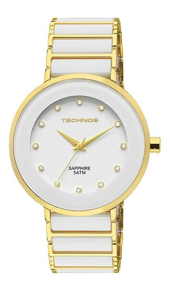 Relógio Technos Feminino Elegance Ceramic 2035lmm/4b C/ Nfe
