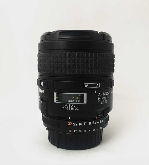 Lente Nikon Af Micro 60 Mm 2.8 D