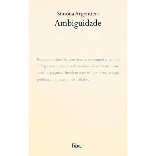 Livro - Ambiguidade / Simona Argentini