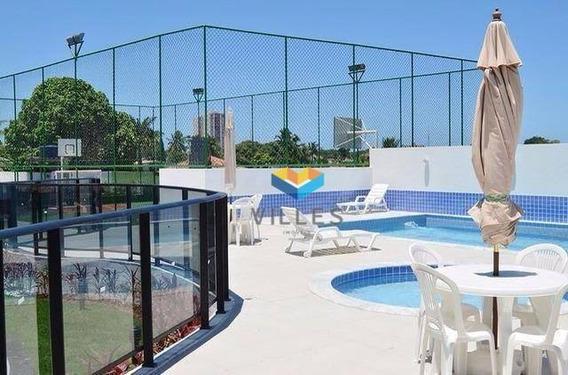 Apartamento Com 2 Dormitórios À Venda, 50 M² Por R$ 195.000,00 - Farol - Maceió/al - Ap0137