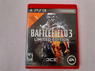 Battlefield 3 Limited Edition Para Ps3