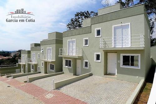 Casa A Venda No Bairro Parque Dom Henrique Em Cotia - Sp.  - M384-1