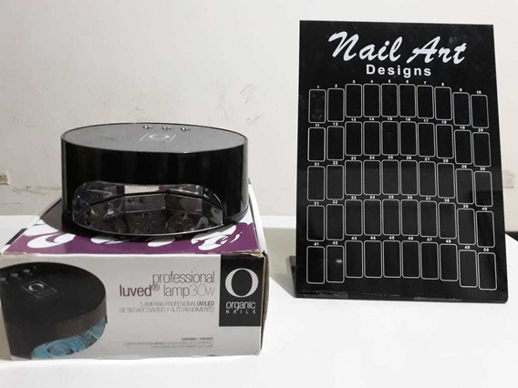 Lámpara Para Uñas Profesional Organic Nails Led