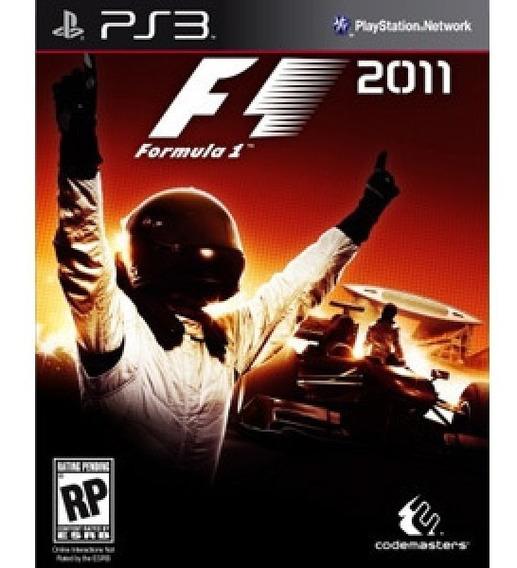 F1 2011 - Ps3 - Mídia Física