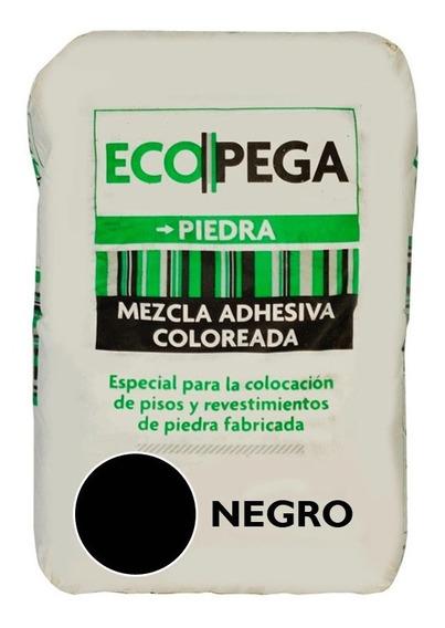 Pegamento Revestimiento Simil Piedra Adhesivo Ecopega 30 Kg