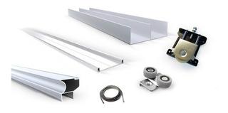 Kit Frente Integral Placard 2 M Aluminio Classic Grupo Euro