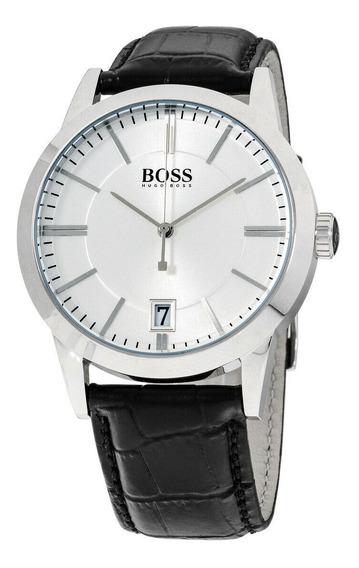 Relógio Masculino Hugo Boss 1513130 Pulseira De Couro