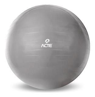 Bola Suíça Ginástica Pilates Com Bomba - Acte Sports 55cm