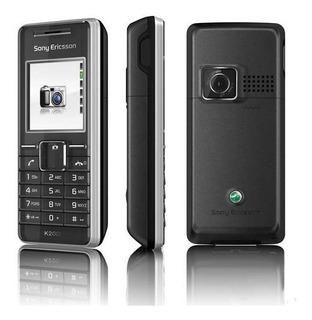 Sony Ericsson K200 - Só Funciona Tim, Raridade, Vga - Novo