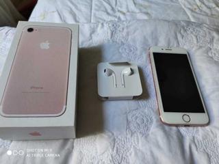 Celular iPhone 7 Rosa Com 128 Gb