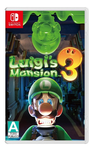 Imagen 1 de 5 de ..:: Luigi Mansion 3 ::.. Para Switch Disponible Ya