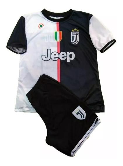 Conjunto Juventus Uniforme Infantil+itens Em Foto 6 Ao 12