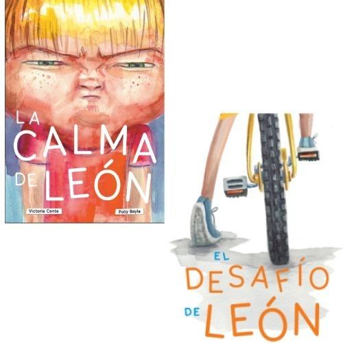 Pack La Calma De León + Desafió De León (2 Libros)