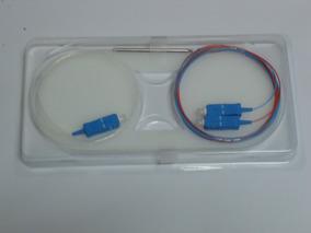 10 Pcs Splitter 1x2 Óptico Conectorizado Sc/upc Balanceado
