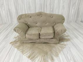 Mini Sofá Para Fotografia Newborn
