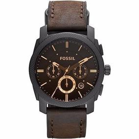 Relógio Fossil Masculino Fs4656 - Pulseira De Couro