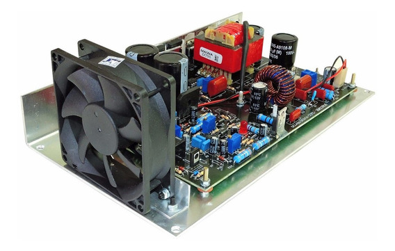Amplificador Dclass Amp Digital 700 Watts + Fonte Completa