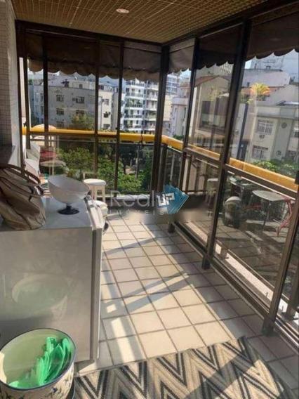 Residencial Com Serviço No Leblon, 2 Qts, 1 Suite, 1 Vaga. 90m2 - 2537