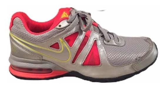 Zapatos Deportivos/gomas Air Max Plateado Talla 8 Nike