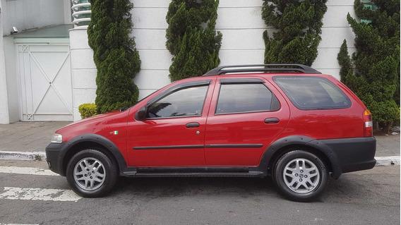 Fiat Palio Weekend Adventure 1.6 Completa Vermelho 2002