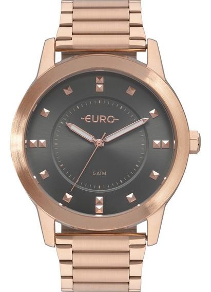 Relógio Euro Feminino Rosê Eu2039jr