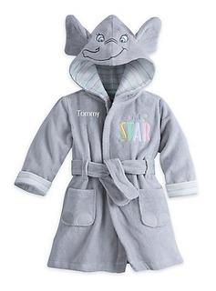 Salida De Baño Para Bebe Dumbo, Disney Store