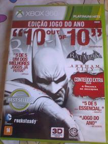 Batman: Arkham City - Edição Jogo Do Ano ( Game Xbox 360 )