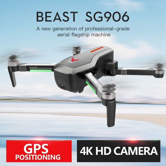 Drone Zlrc Gs906 Clone Dji Mavic + Bateria Extra + Bolsa