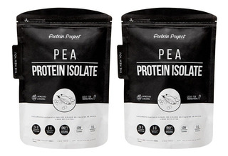 Vegan Pea Protein Project Isolate 908gr X 2 Unidades