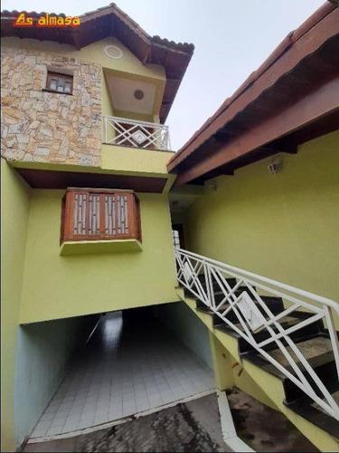 Sobrado Com 3 Dormitórios À Venda, 204 M² Por R$ 750.000,00 - Vila Augusta - Guarulhos/sp - So0205
