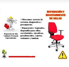 Reparacion De Sillas!!