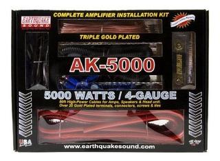 Kit De Instalacion De Amplificador Completo Earthquake Sound