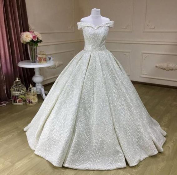 Vestido De Novia Blanco Arrastre A5