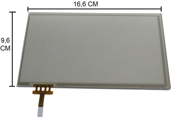 Tela Touch Dvd Pioneer Avh-x7780tv Avh-x7750bt (csx1196-a)