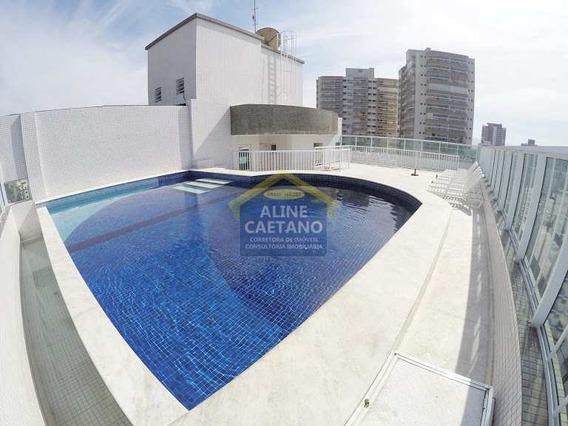 Apartamento Com 2 Dorms, Boqueirão, Praia Grande - R$ 430 Mil, Cod: Ac4010 - Vac4010